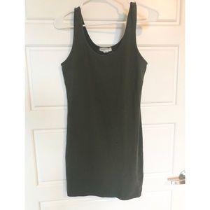 Forever 21 Dresses - Olive green bodycon dress